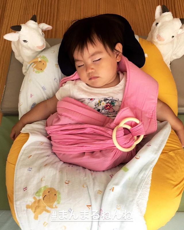 #まんまるねんね#質の良い睡眠#ヤギさんに守られて